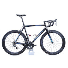 Viner Volterra Z115 Shimano Ultegra 6800 Road Bike - X- Large - Matt Black & Gloss Blue