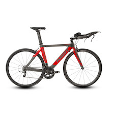 Planet X Stealth / Medium / Anthracite and Fluo Red / SRAM Force 11 / Vision 35 /  Bonjourno Cuckney 10 Limited Edition Time Trial Bike