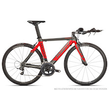 Planet X Stealth SRAM Force 11 Time Trial Bike - Small - Anthracite and Red