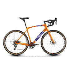Holdsworth Mystique SRAM Force 1 Gravel Bike 700C Wheels / 49cm X Small / Team Orange