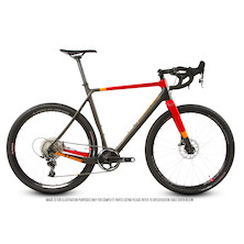 On-One Space Chicken SRAM Force 1 Gravel Bike 27.5 Wheels / Medium 54cm / Anthracite and Red