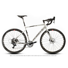 Planet X London SL Road Force 1 Bike / Silver Reflective / Small