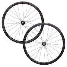 Ursus TS37 Carbon Disc Tubular Wheelset / 700c / 15mm Front X 12mm Rear / Shimano/SRAM 10/11sp (Used)