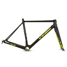Viner Maxima RS 4.0 Carbon Road Frameset / Large / Carbon And Neon Yellow (Clearcoat Peeling Off Decals On Frame)