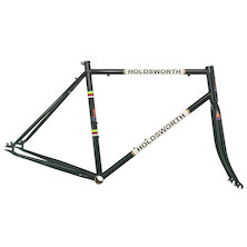 Holdsworth La Quelda Steel Single Speed Frameset / X Large / British Racing Green (Dent In Headtube And Chip On Frame)