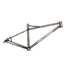 On-One DeeDar 27.5 Steel Hardtail Frame / 16 Inch / Matt Black (Rusty BB)