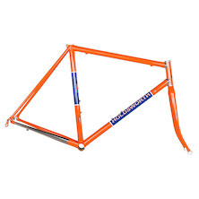 Holdsworth Professional Italia Stainless Frameset / 54cm / Team Orange And Blue (Scratches On Top Of Seattube)