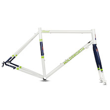 Holdsworth Brevet Endurance Frameset / Large / Pearl White (Cosmetic Damage)