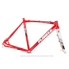 Planet X XLA Alloy Cyclocross Frameset / Small / Fire Red (Cosmetic Damage)