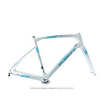 Planet X Pro Carbon EVO Frameset / Small / White / Blue (Cosmetic Damage)