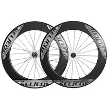 Selcof Delta 86mm Carbon Clincher Wheelset / Shimano 11 Speed (Used)