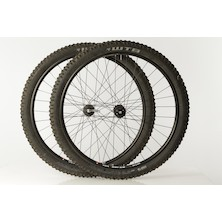 "WTB ST I25 TCS Rim On El Guapo Rattlesnake Hubs / 29"" / Front 15mm / Rear 135mm QR / XD/ USED / Includes WTB Vigilante 2.3 Tyres/"