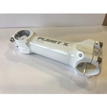 Planet X Ultralight CNC Stem / 120 Mm / White / 6 Deg (USED)