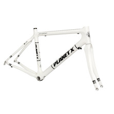 Planet X Pro Carbon Road Frameset / Large / White (Cosmetic Blemishes)
