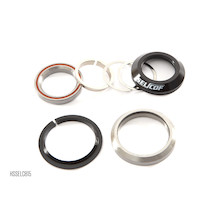 """Selcof Integrated Cup Angular Contact Cartridge Bearing V2 Headset For Tapered 1"""" 1/8th  1.5"""" Fork Steerer"""