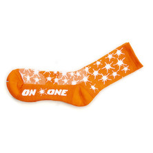 On-One Thicky Merino Socks Orange Splat