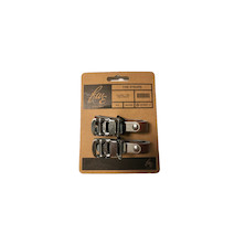 FWE Classic Type Toe Straps Brown