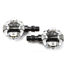 Jobsworth SPD Compatible Pedals Black With Cleat
