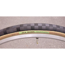 Jack Brown Green Folding Tyre