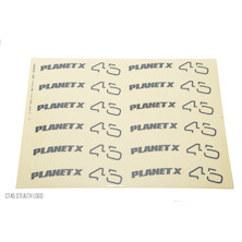 Planet X Wheelset Decals