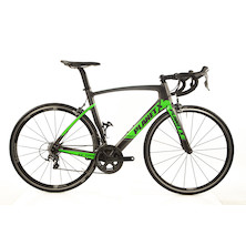 Planet X EC-130E Rivet Rider 6800  Aero Road Bike Large Anthracite And Green Used