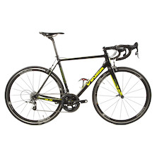 Viner Maxima / Large / Black And Neon / Sram Force 22 / New Frame Used Parts