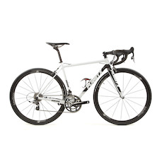 Planet X RT-80 Force Road Bike 50cm Black And White - New Frame Used Parts