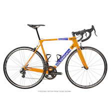 Holdsworth Super Professional Super Record EPS Road Bike / Medium 54cm / Team Orange / Calima Wheelset - Ex Team
