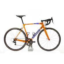Holdsworth Super Professional Chorus Road Bike / 54cm Medium / Team Orange / Zonda Wheelset - Ex Team New Frame