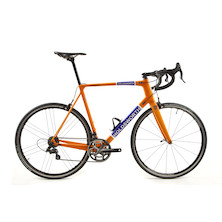 Holdsworth Super Professional Chorus Road Bike / 58cm X Large / Team Orange - New Frame Used Parts