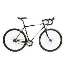Holdsworth La Quelda Steel Single Speed Drop Bar Mens Bike Medium Black