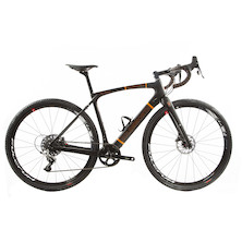 Holdsworth Mystique Carbon Gravel Rival Bike / 52cm Small / Black And Orange
