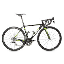 Planet X Maratona Carbon Rival 22 Road Bike 48cm  Black And Green