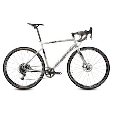 Planet X London SL Road Force 1 Bike  Silver Reflective  Large - Chipped Stay