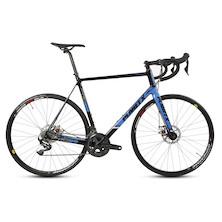 Planet X RTD-80 Shimano Ultegra R8000 Mix Mechanical Disc Road Bike XXL Black Sky White