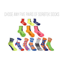 Sorbtek Socks Pick And Mix 5 For A Tenner Bundle
