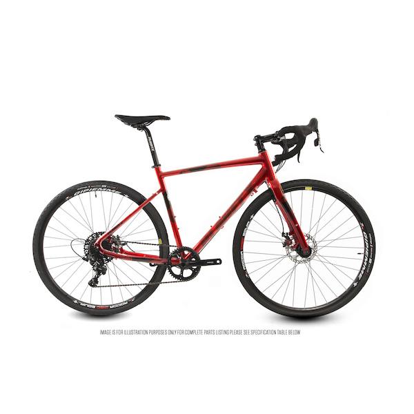 Planet X Full Monty SL SRAM Apex 1 Mechanical Disc Cross Bike.