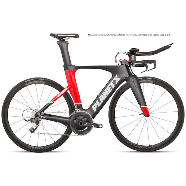 Planet X Exo3 Time Trial Bike SRAM Force 11 Vision 35