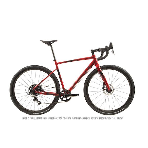 Planet X Full Monty SL Shimano 105 R7000 Mechanical Disc Gravel Bike
