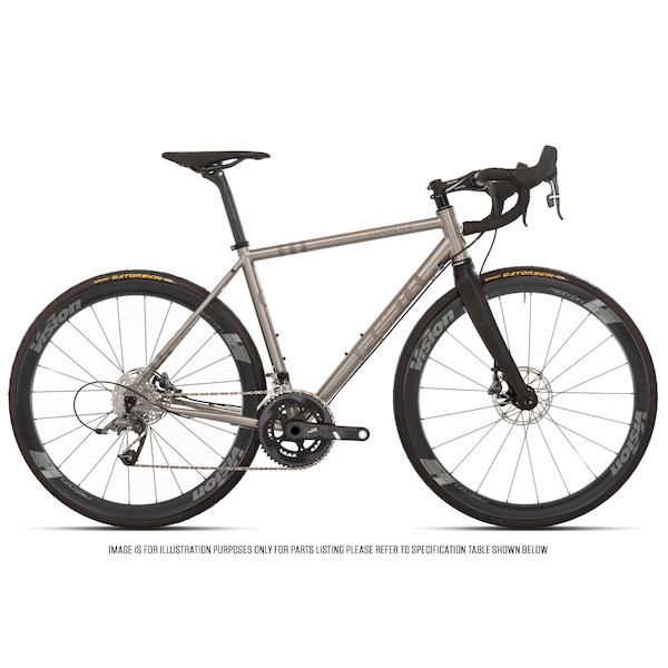 Planet X Hurricane Sram Force 22 HRD Vision Metron 40 Titanium Endurance Bike Fully Loaded Edition