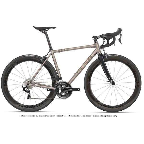 Planet X Spitfire Shimano 105 R7000 Vision Metron 55 Titanium Road Bike