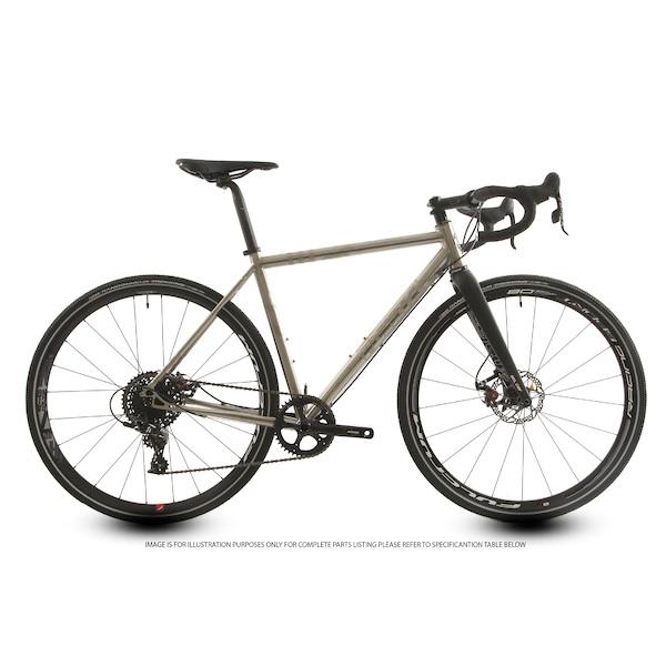 Planet X Tempest Titanium Gravel Road Bike Sram Apex 1 Mechanical Disc 650B Wheel