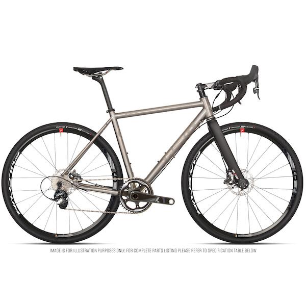 Planet X Tempest Titanium Gravel Road Bike Sram Force 1 HRD 700C Wheel