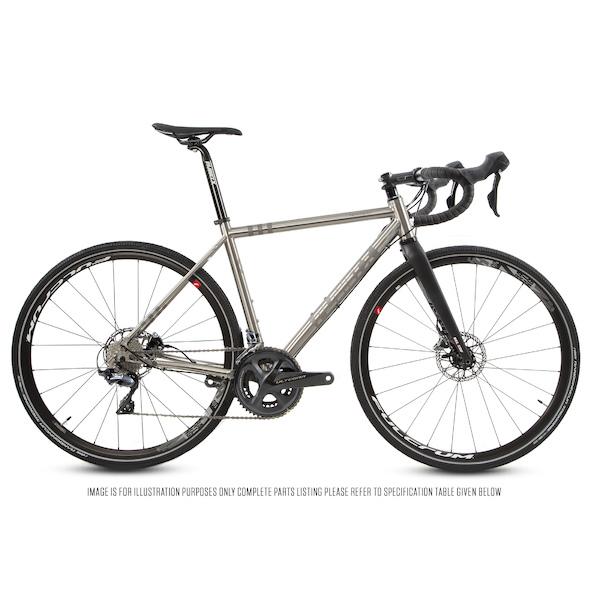 Planet X Tempest Titanium Gravel Road Bike Shimano Ultegra R8000 700C Wheel