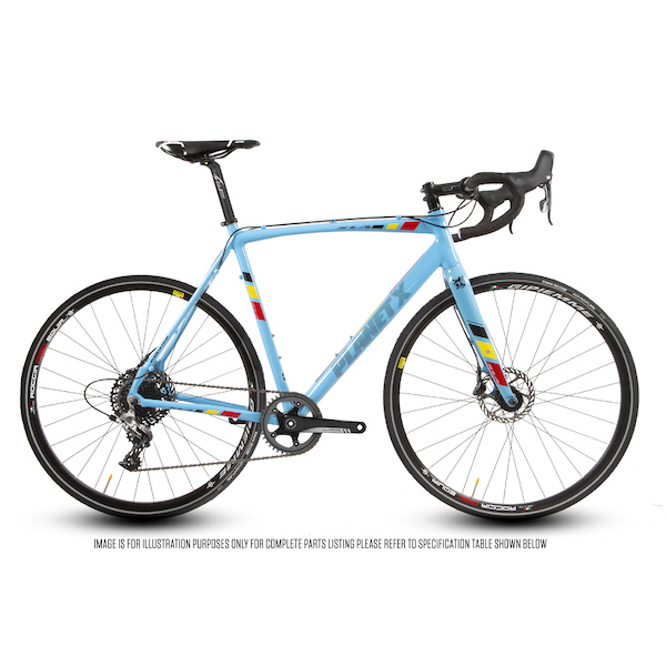 Planet X XLA SRAM Rival 1 Hydraulic Disc Road Bike