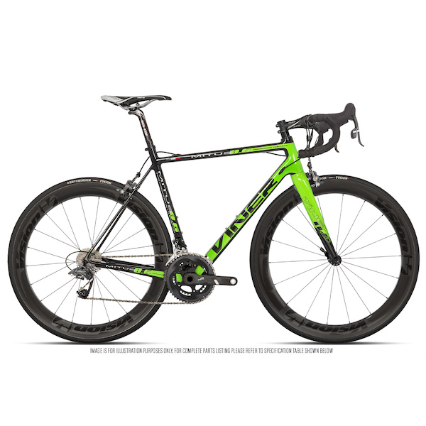 Viner Mitus Sram Force 22 Vision Metron 55 Road Bike