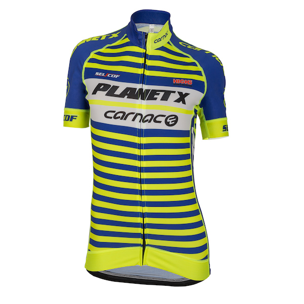 Planet X Team Carnac Women's Short Sleeve Jersey
