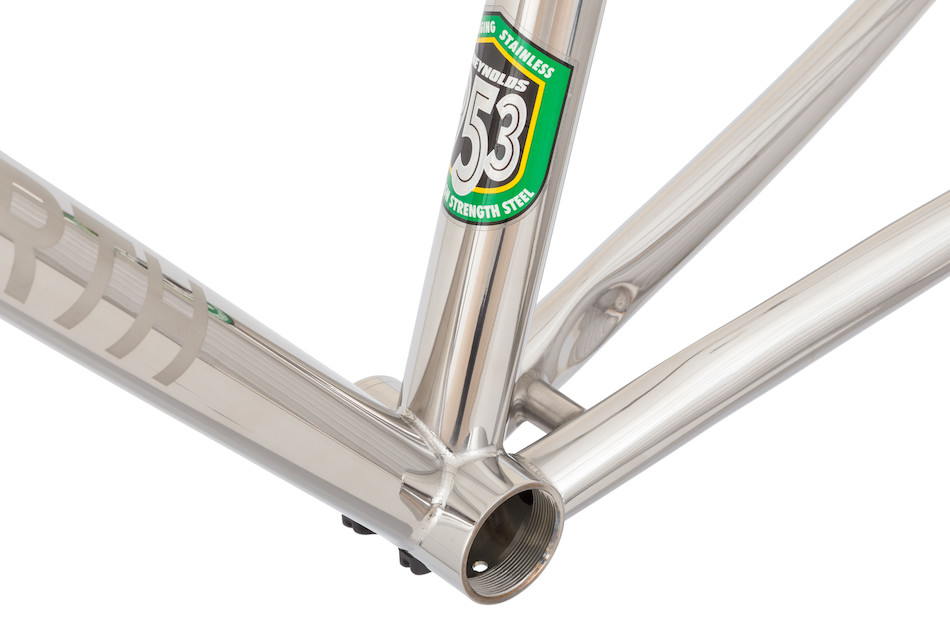 Holdsworth Strada 953 Stainless Steel Road Frame   Planet X