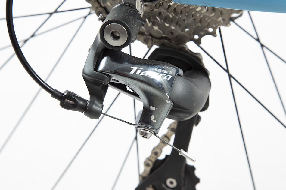 e6e96f6223c Planet X XLS Shimano Tiagra 4700 Carbon Cyclo Cross Bike / 59cm / Sky And  Red / Used