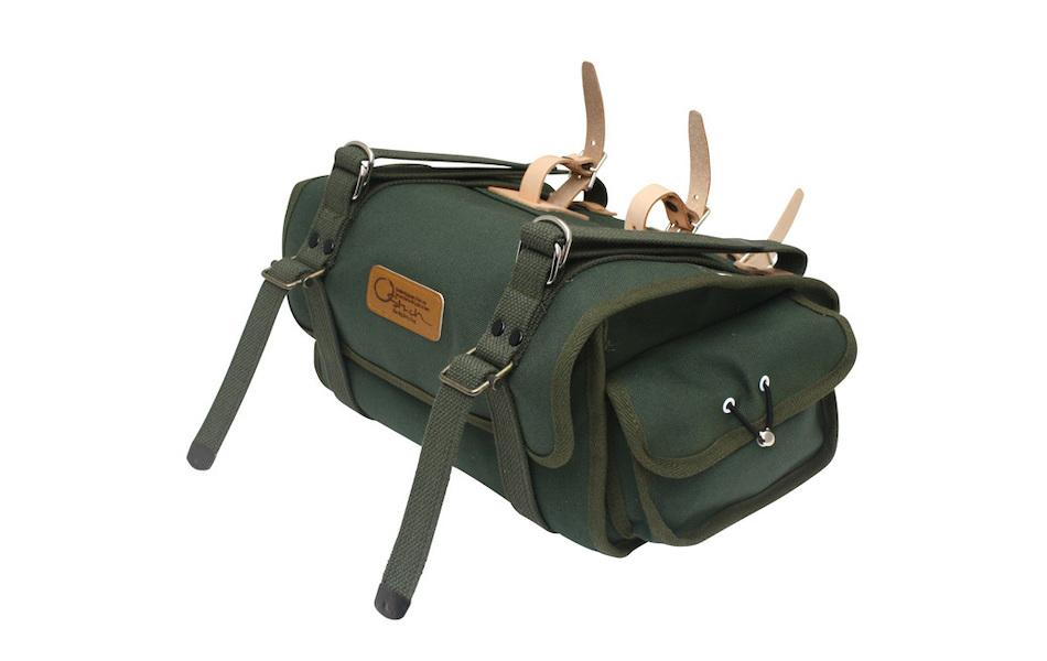 Ostrich Saddle Bag S-2